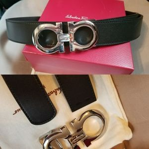 Other - 💥Authentic Salvatore Belt Black Leather Revesible